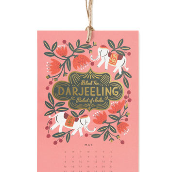 Rifle Paper Co. 2016 Coffee & Tea Calendar