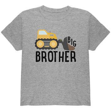 Big Brother Construction Truck Digger Youth T Shirt