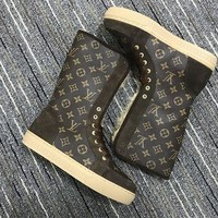 Louis Vuitton Lv Women Snowball Flat Half Boot Reference #1 - Best Deal Online