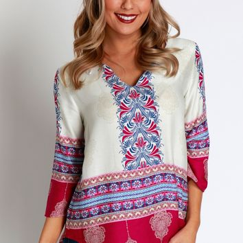 Through The Grapevine Blouse