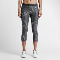 The Nike Print Women's Golf Capris.