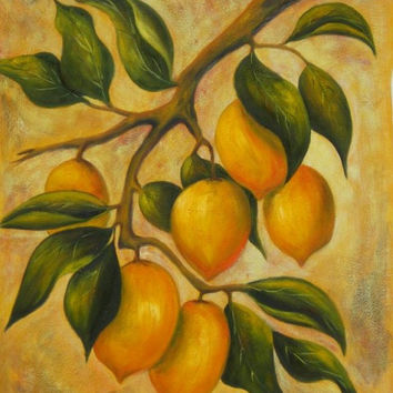Citrus Oil Painting