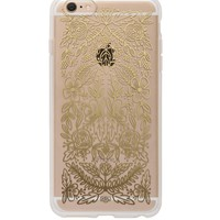 Gold Floral Lace iPhone 6 Clear Case by RIFLE PAPER Co. | Imported