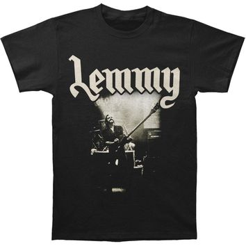 Motorhead Men's  Lemmy Live To Win T-shirt Black