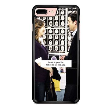 Grey S Anatomy Quote iPhone 7 Plus Case