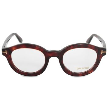 Tom Ford FT5460 054 49 Round | Havana | Eyeglass Frames