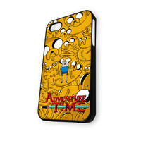 Adventure Time Jake And Finn iPhone 4/4S Case
