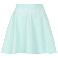 Mint Baby Cord Skater Skirt - Full & Flippy Skirts