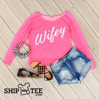 Wifey - Sweater Fleece