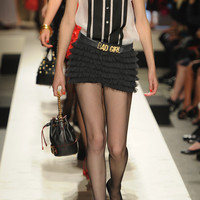 Moschino | Bad Girl leather belt | NET-A-PORTER.COM