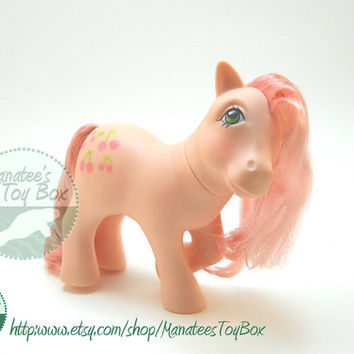 Vintage My Little Pony Cherries Jubilee 1980s Toy