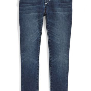 Toddler Girl's Joe's French Terry Skinny Jeans,