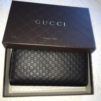 One-nice™ Authentic GUCCI Guccissima Leather Wallet/Clutch