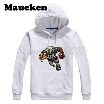 Men Hoodies 2018 Super Champions Strong Philadelphia Extreme Eagle Sweatshirts Thick for Eagles fans Autumn Winter W17102208