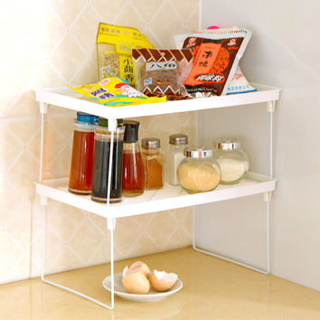 Washroom Storage Home Hygiene Kitchen Rack = 4877796100