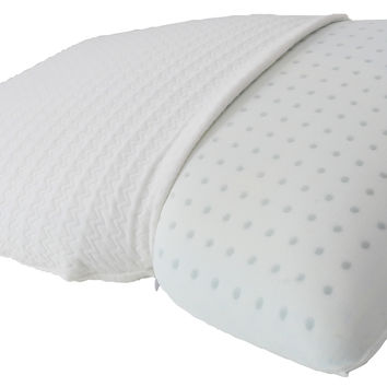 Michael Anthony Furniture Standard Molded Gel Memory Foam Pillow