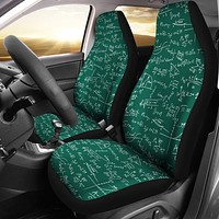 Math Formula Car Seat Covers
