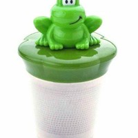 Joie Ribbit Frog Themed Floating Stainless Steel Loose Leaf Tea Cup Infuser
