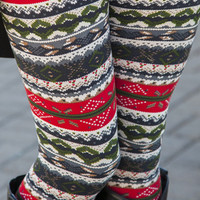 Country Winter Leggings