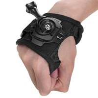 New 360 Degree Rotation Protection Hand Wrist Strap Mount + Screw for Gopro Hero 4 SJ4000 Strip Belt For GoPro Accessories