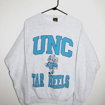 Vintage University of North Carolina Tar Heels Crewneck Sweatshirt