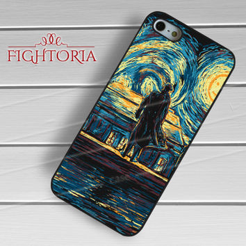 Sherlock Holmes Starry Night Van Gogh - zFzF for  iPhone 6S case, iPhone 5s case, iPhone 6 case, iPhone 4S, Samsung S6 Edge