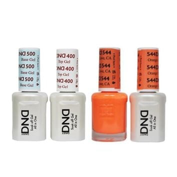 DND - Base, Top, Gel & Lacquer Combo - Pink Hill NC - #534