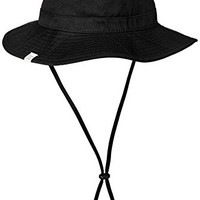 Herschel Supply Co. Men's Creek Bucket Hat, Black, Large-X-Large
