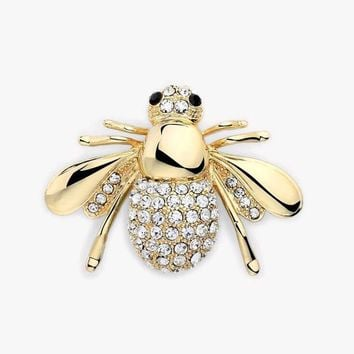 Factory Direct Selling Cute Animal Bee Brooch For Women In Europe And America High-grade brooch