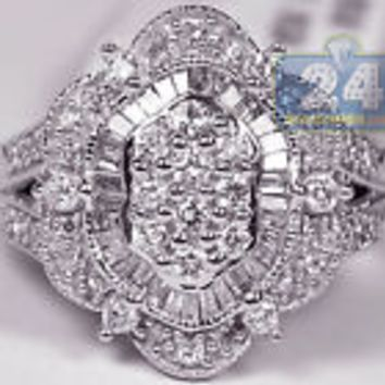 Womens  Cocktail Ring - Size 8 - Free Shipping
