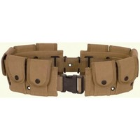 Functional 10 Pouch Utility Belt (Brown/Tan) - SuperHeroSource.com