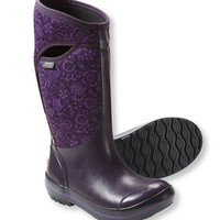Women's Bogs Plimsolls Boots, Tall Quilted Floral | Free Shipping at L.L.Bean