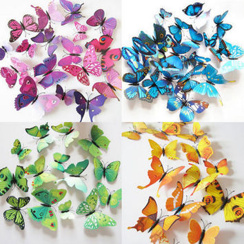 3D Butterfly Wall Art / Wall Stickers / Wall Decal