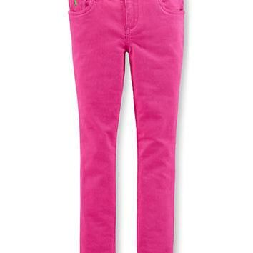 Ralph Lauren Childrenswear Girls 7-16 Corduroy Five Pocket Pants
