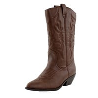 Reno-S Cowboy Embroidered Western Boots