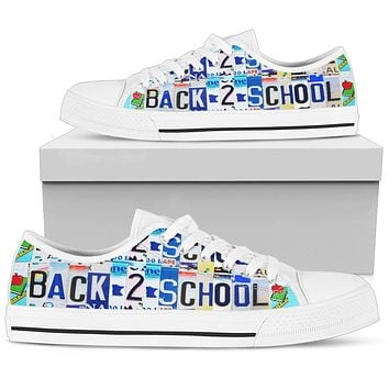 Back To School Low Top