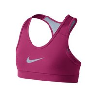 Nike Store. Nike Pro Core Mesh Girls' Sports Bra