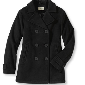 Classic Lambswool Peacoat: Casual Jackets | Free Shipping at L.L.Bean