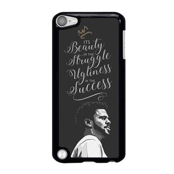 J COLE LYRIC LOVE YOURZ iPod Touch 5 Case Cover