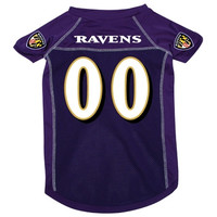 Baltimore Ravens Deluxe Dog Jersey - Small