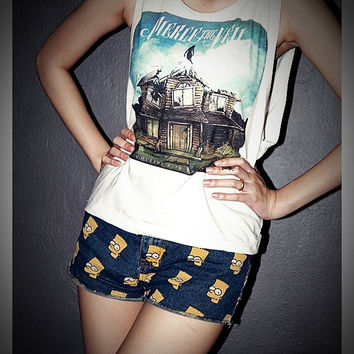 Pierce The Veil Shirt Crop Top Tank Tops SideBoob Size S, M, L