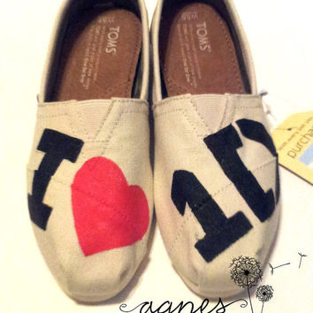 One Direction Painted TOMS Version 1