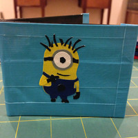 How to: Duct Tape Wallet Instructions with Photos - Tutorial, How To, DIY Do It Yourself - Comes as a Digital File, Ready to Download