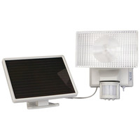 Maxsa Innovations Solar-powered 50-led Motion-activated Outdoor Security Floodlight (white)