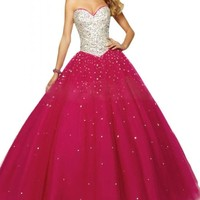 Angel Bride Gorgeous Sweetheart Ball Gowns Tulle Quinceanera Dresses for Juniors