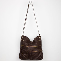 T-Shirt & Jeans Washed Hobo Bag Chocolate One Size For Women 22106140201