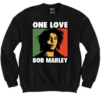 One Love Unisex Crewneck Funny and Music