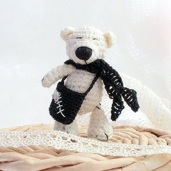 Amigurumi, Amigurumi bear, Crochet bear, Crochet Plush Toy, small crochet bear, little amigurumi bear, small pet animal, small bear