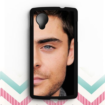 zac efron face Nexus 5 Case