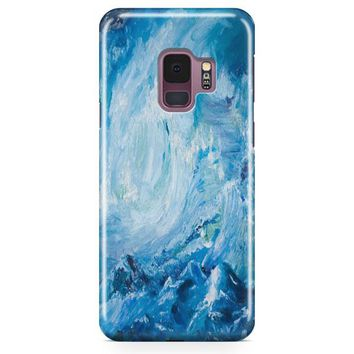A Beautiful Painting Wave Samsung Galaxy S9 Plus Case | Casefantasy